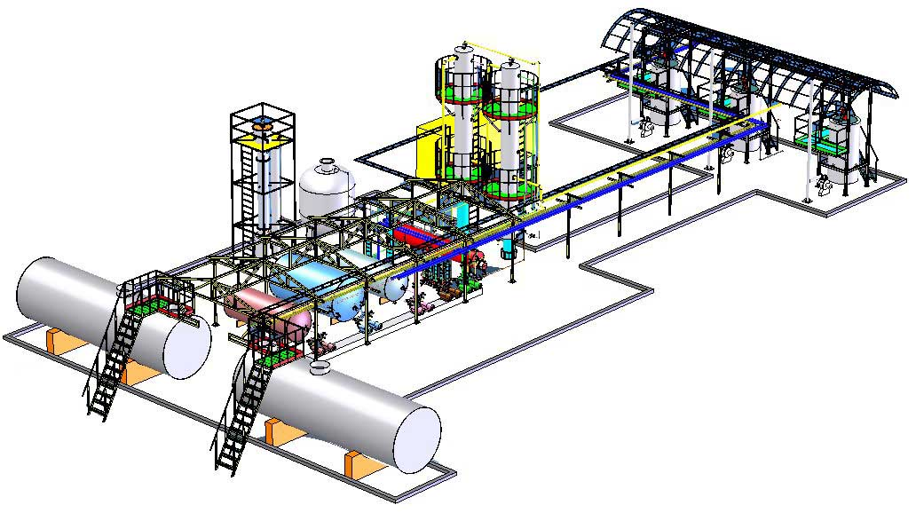 How a Vegetable Oil Refinery Plant Works | Oil Refinery Plant