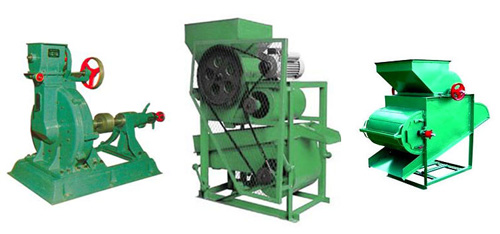 seed dehulling machine